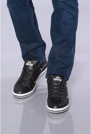 Kaya Dericilik Siyah Erkek Spor Ayakkabı-7206
