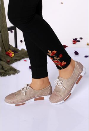 Oflaz Vizon Kadın Ayakkabı-Y1454