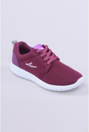 Kaya Dericilik Mor Kadın Spor Ayakkabı-1027