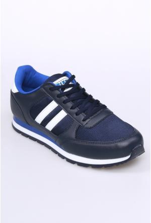 Kaya Dericilik Lacivert Erkek Spor Ayakkabı-001