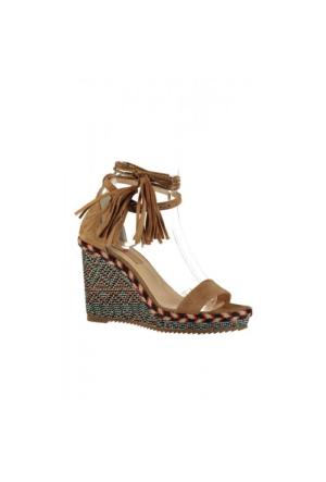 Elle Carole Bayan Ayakkabı - Taba