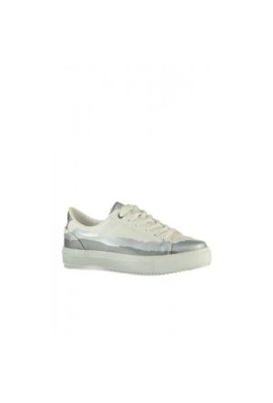 Elle Sherry Bayan Ayakkabı - Beyaz/Gümüş
