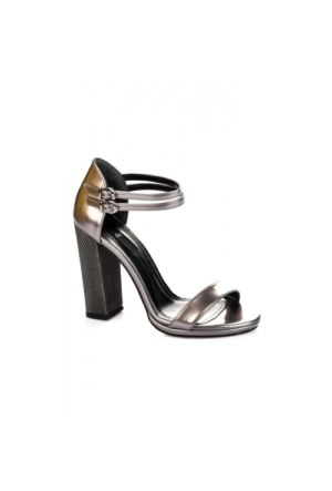 Elle Nesy Bayan Ayakkabı - Kurşun