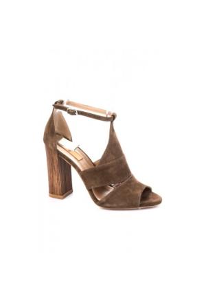 Elle Karen Bayan Ayakkabı - Vizon