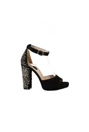 Elle Gaze Bayan Ayakkabı - Siyah