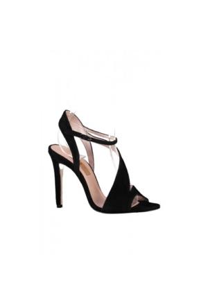 Elle Floresca Bayan Ayakkabı - Siyah