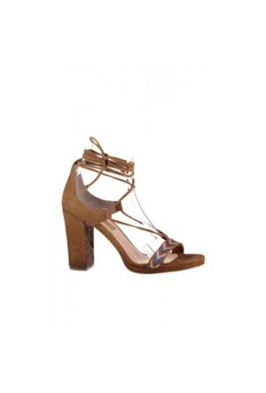 Elle Suelita Bayan Ayakkabı - Taba