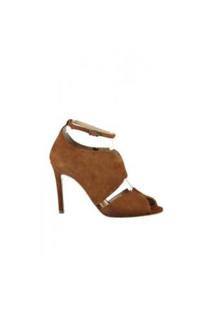 Elle Fiolas Bayan Ayakkabı - Taba