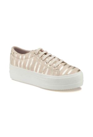 Art Bella U1004 Bej Kadın Sneaker Ayakkabı