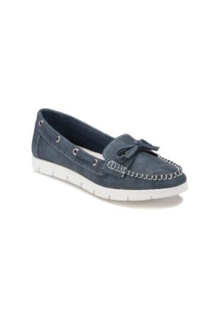 Art Bella U2751 Mavi Kadın Loafer Ayakkabı