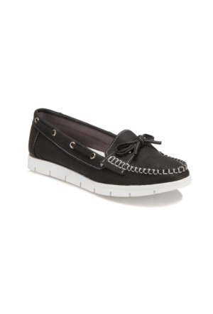 Art Bella U2751 Siyah Kadın Loafer Ayakkabı