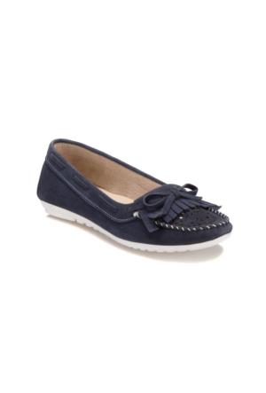Art Bella U2752 Lacivert Kadın Loafer Ayakkabı