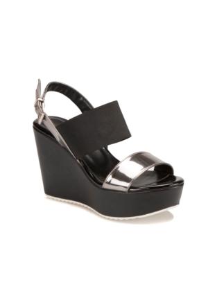Butigo S1126 Siyah Kadın Ayakkabı