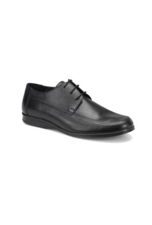 Flogart 506 M 1602 Siyah Erkek Deri Klasik Ayakkabı