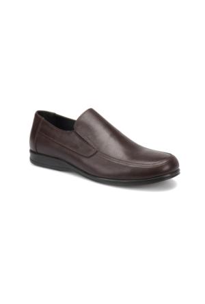 Flogart 507 M 1602 Kahverengi Erkek Deri Klasik Ayakkabı