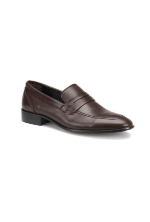 Garamond 4656 M 1602 Kahverengi Erkek Klasik Ayakkabı