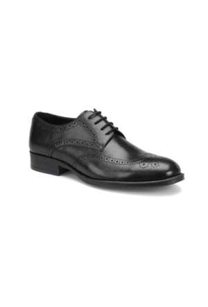 Garamond 4668 M 1602 Siyah Erkek Klasik Ayakkabı