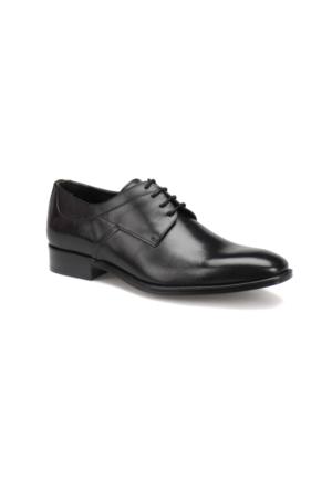 Garamond 4669 M 1602 Siyah Erkek Klasik Ayakkabı