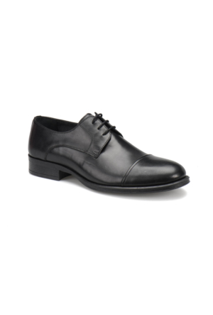 Garamond 4671 M 1602 Siyah Erkek Klasik Ayakkabı