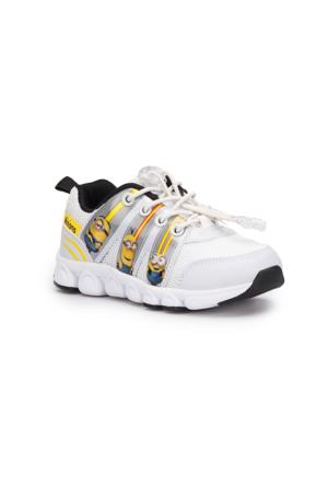 Minions Hobbs Beyaz Erkek Çocuk Ayakkabı