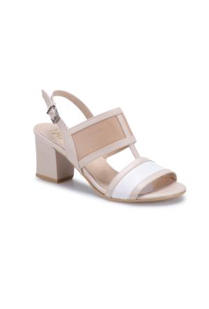 Miss F Ds17057 Bej Kadın Ayakkabı 397