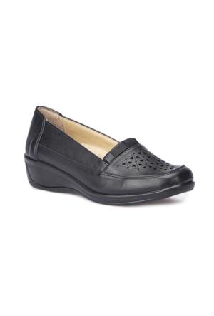 Polaris 5 Nokta 71.109602.Z Siyah Kadın Ayakkabı