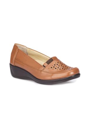 Polaris 5 Nokta 71.109602.Z Taba Kadın Ayakkabı