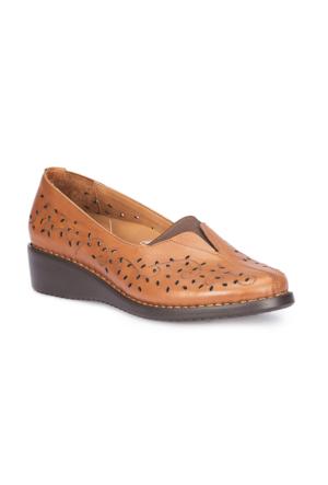Polaris 5 Nokta 71.109651.Z Taba Kadın Deri Ayakkabı