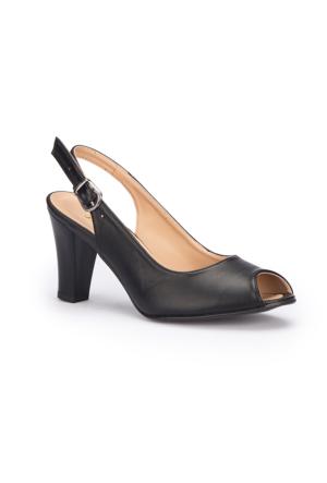Polaris 71.309791.Z Siyah Kadın Ayakkabı