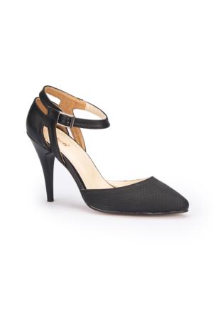 Polaris 71.309796.Z Siyah Kadın Ayakkabı