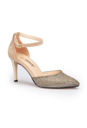 Polaris 71.309816.Z Bej Kadın Ayakkabı
