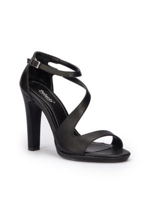 Polaris 71.309896.Z Siyah Kadın Ayakkabı