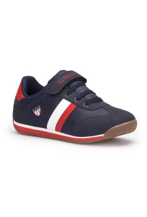 U.S. Polo Assn. Boni Lacivert Unisex Çocuk Sneaker Ayakkabı