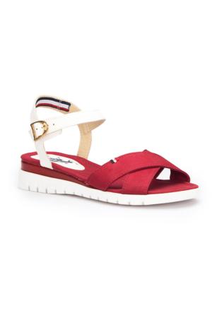 U.S. Polo Assn. Trosa Bordo Kadın Sandalet