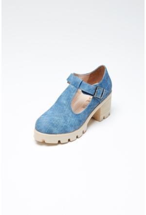 FullaModa Topuklu Ayakkabı 17Y17DED01321