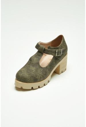 FullaModa Topuklu Ayakkabı 17Y17DED01349