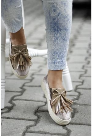 İnce Topuk Oxford Ayakkabı