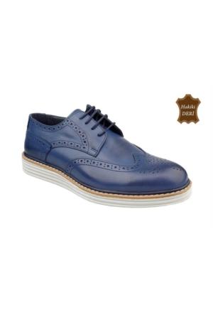 Wolfland 201 Y 113 Hakiki Deri Klasik Ayakkabı