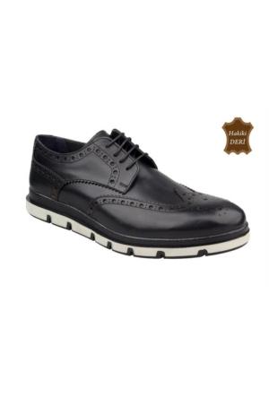 Wolfland 215 Y 32 Hakiki Deri Klasik Ayakkabı