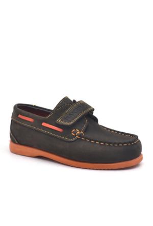 Raker Plus Hakiki Deri Kahverengi Timber Cırtlı Erkek Çocuk Ayakkabı