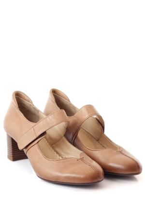 Gön Deri Kadın Ayakkabı 13256