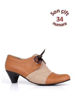 Loggalin 780750 031 136 Kadın Taba Vizon Günlük Ayakkabı