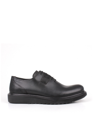 Crunell 214626 027 019 Erkek Siyah Günlük Ayakkabı