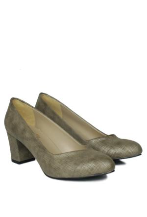 Loggalin 580711 031 134 Kadın Koyu Yeşil Abiye Ayakkabı