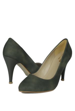 Loggalin 580115 031 633 Kadın Koyu Yeşil Stiletto