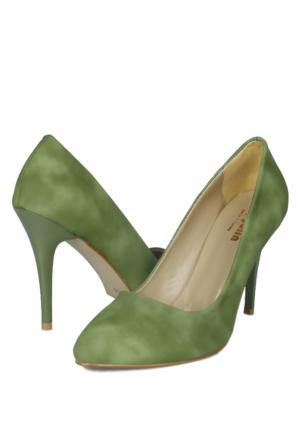 Loggalin 580115 031 733 Kadın Açık Yeşil Stiletto