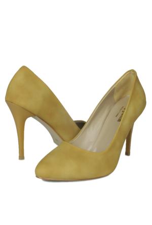 Loggalin 580115 031 133 Kadın Sarı Stiletto