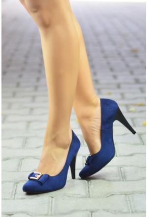 Peri Kızı Armin Topuklu Ayakkabı Lacivert