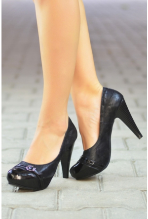 Peri Kızı Leyta Topuklu Ayakkabı Siyah