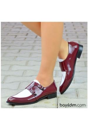 Peri Kızı Limmo Ayakkabı Bordo